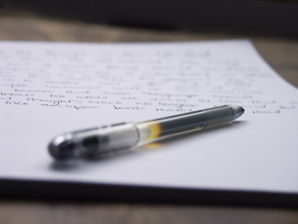 ACAD - Activités culturelles Page d'écriture
