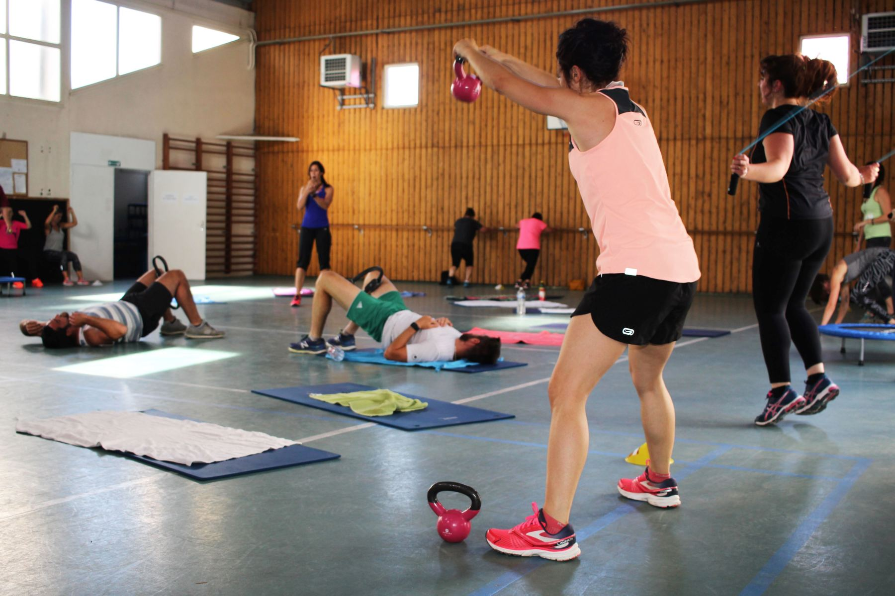 ACAD - Activité Total circuit training + Run