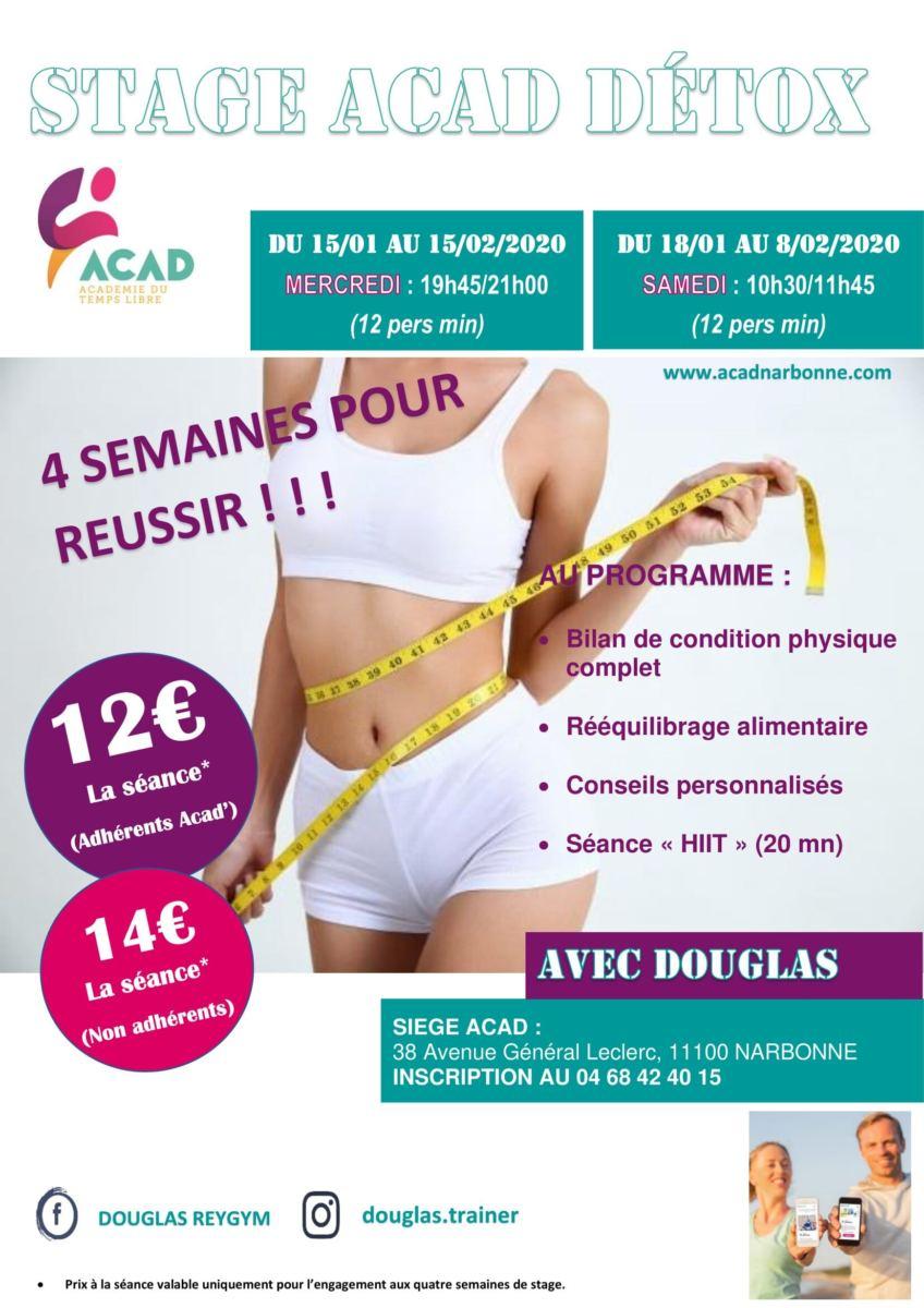Stage Acad' Détox