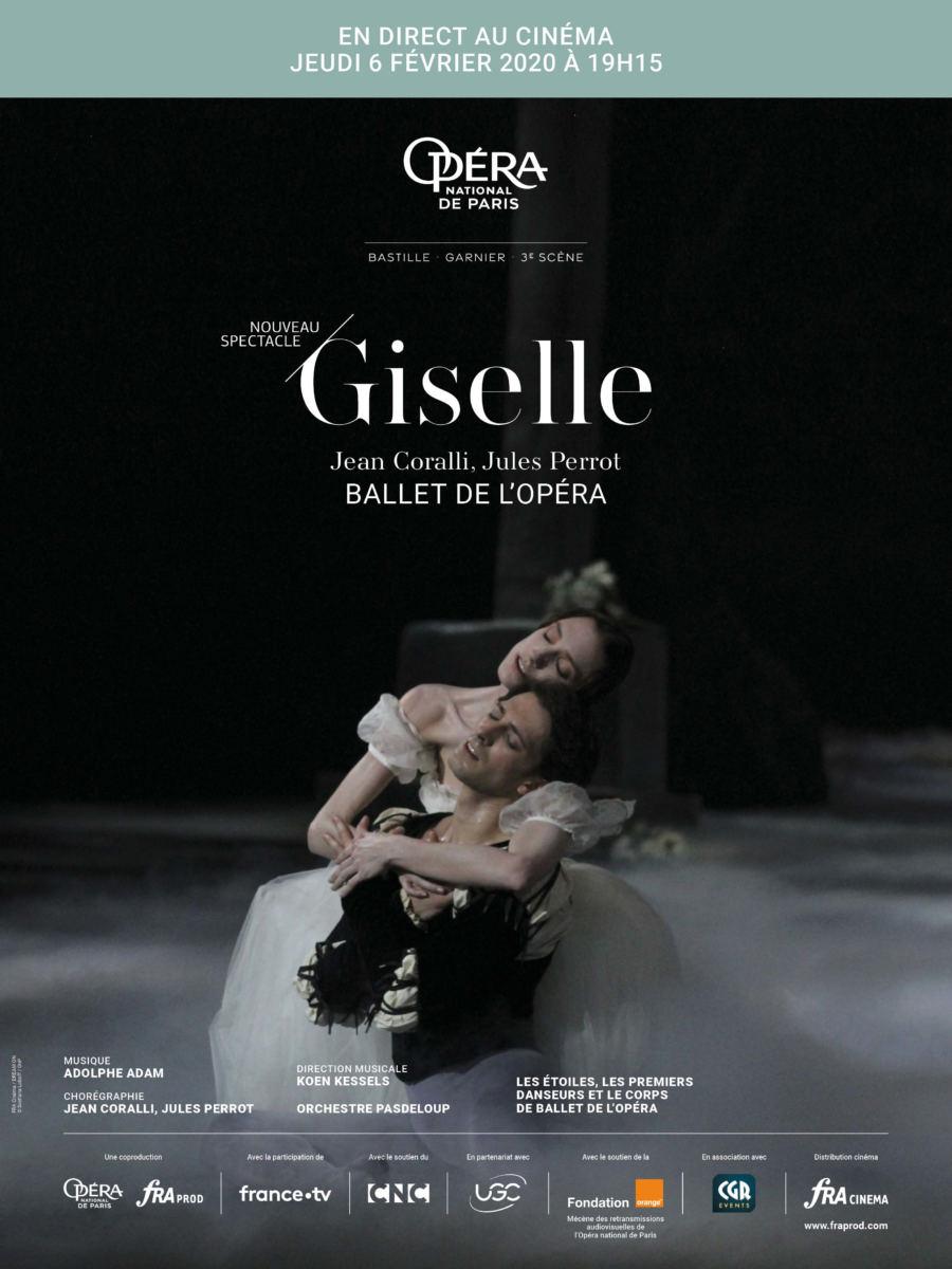 Ballet Giselle au CGR de Narbonne