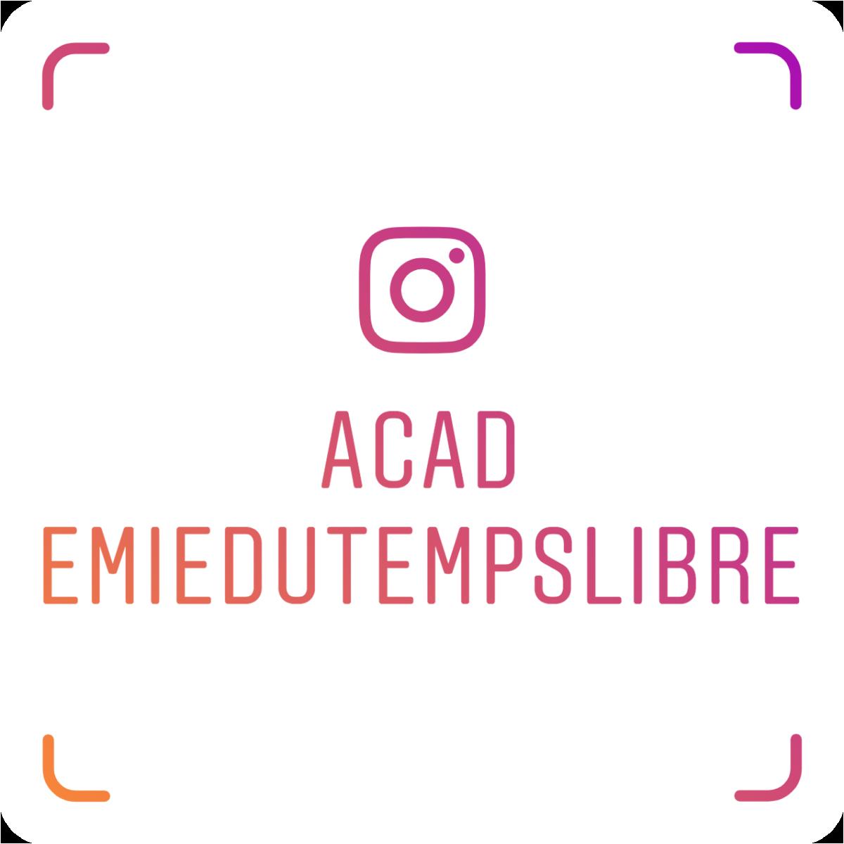 ACAD - Suivez-nous sur Instagram !