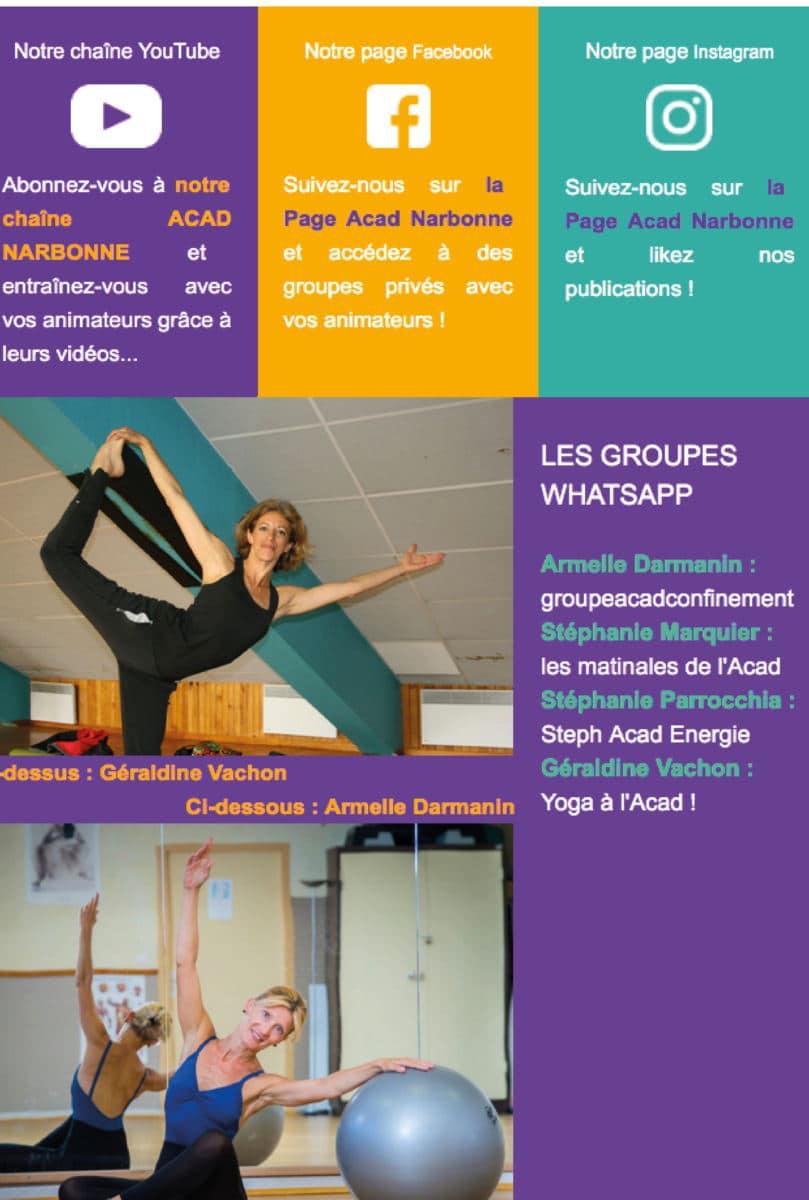 Newsletter Juin «reprise gym partielle»