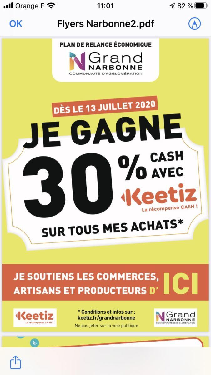 ACAD - Keetiz : l'appli qui vous paie pour dépenser