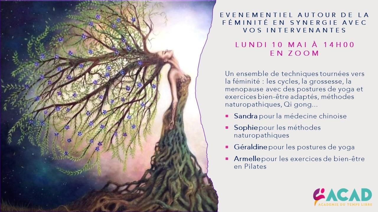 ACAD - 2ème Evenementiel en synergie par Zoom : la Féminité