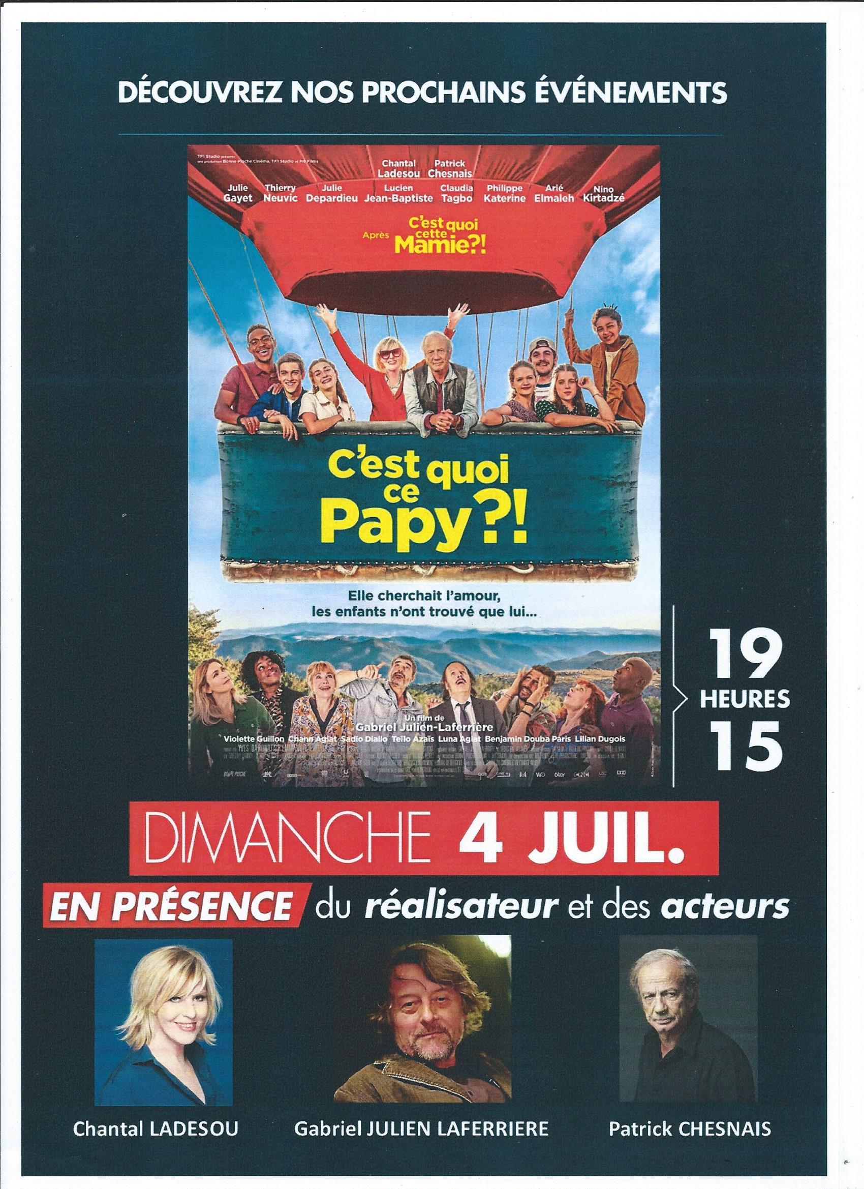 Film en avant-première au CGR Narbonne